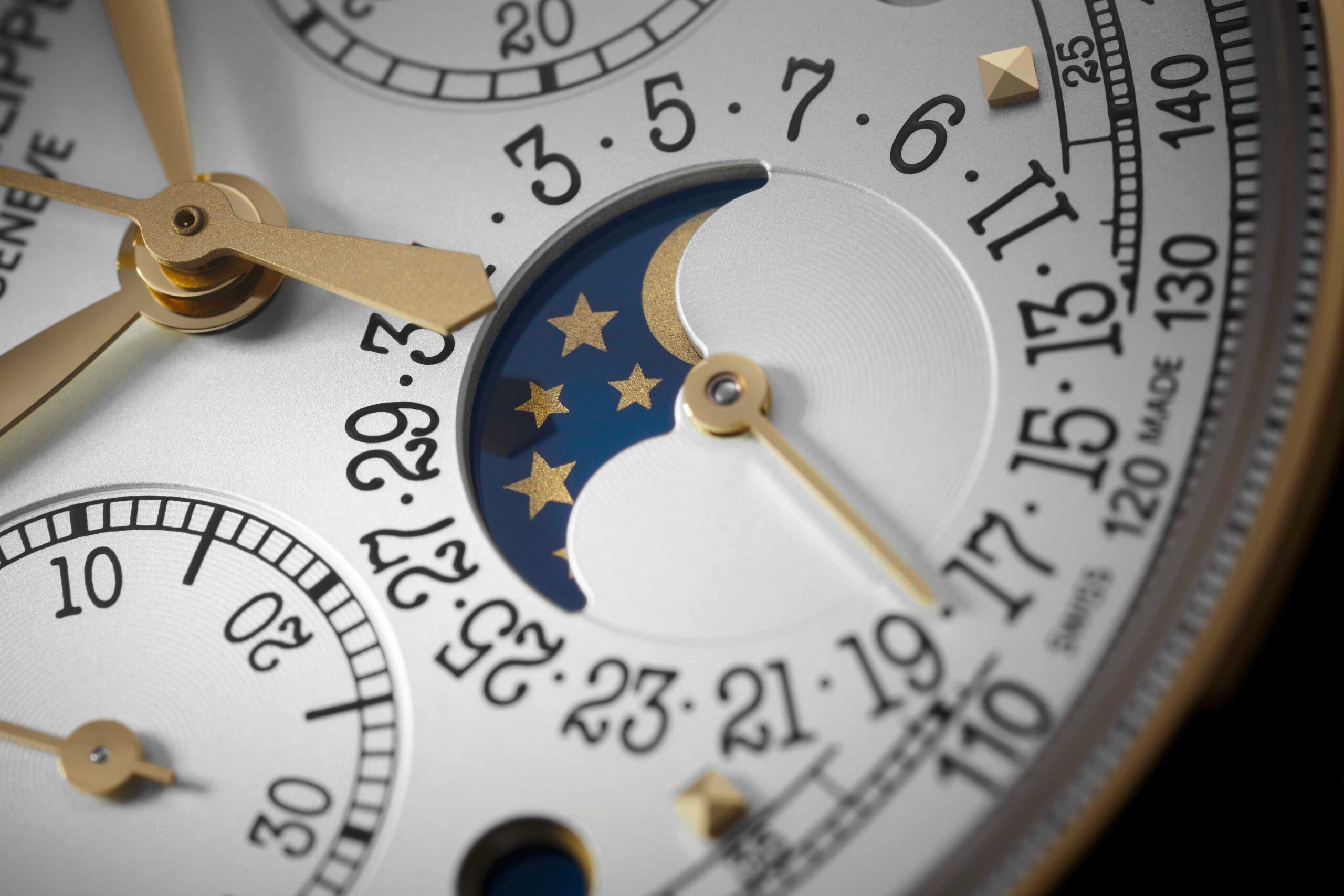 Patek Philippe Perpetual Calendar Chronograph Ref 5270J-001 -moon phase