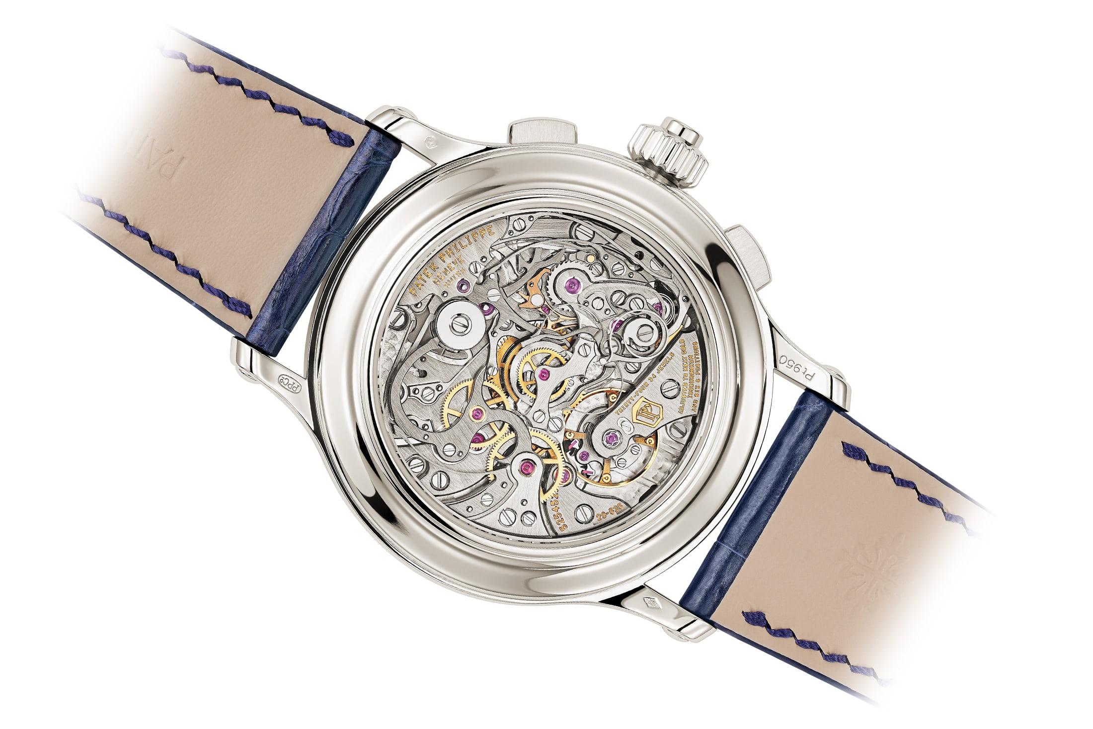 Patek Philippe Split Seconds Chronograph Ref 5370P fondo