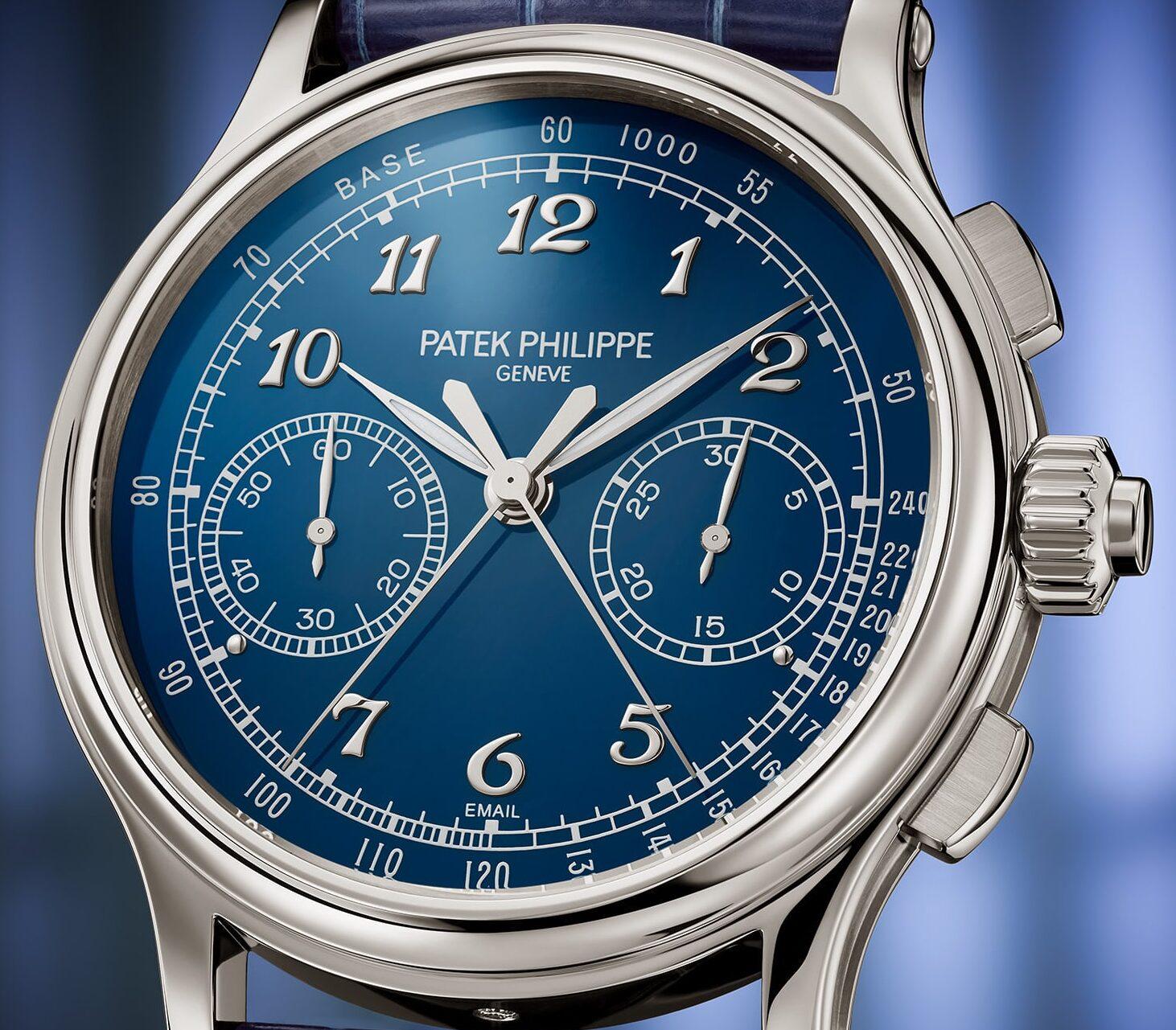 Patek Philippe Split Seconds Chronograph Ref 5370P hero