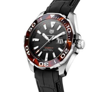 TAG Heuer Aquaracer 43 mm Tortoise Shell Effect Special Edition marron