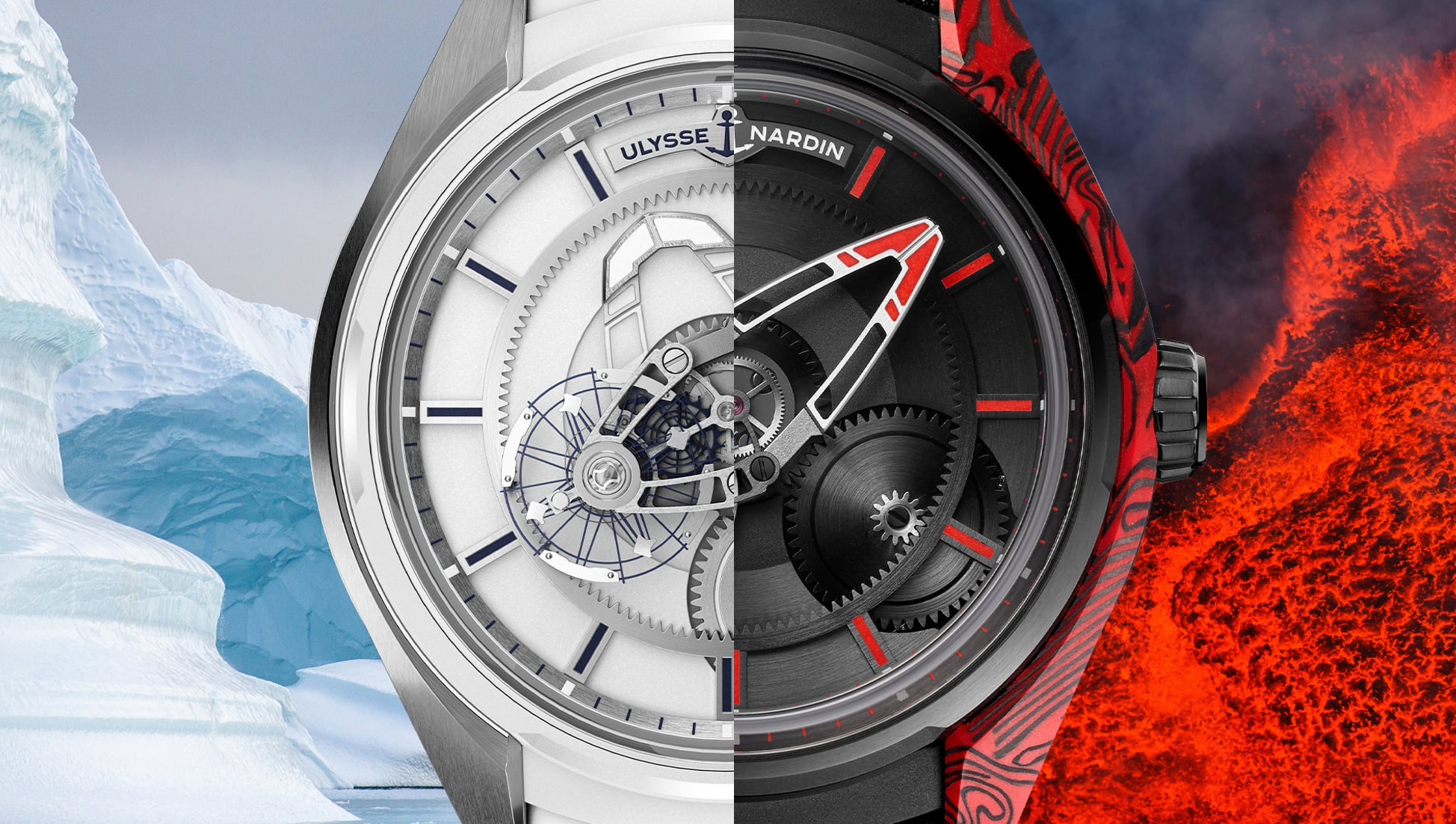 Ulysse Nardin Freak X Magma y Freak X Ice