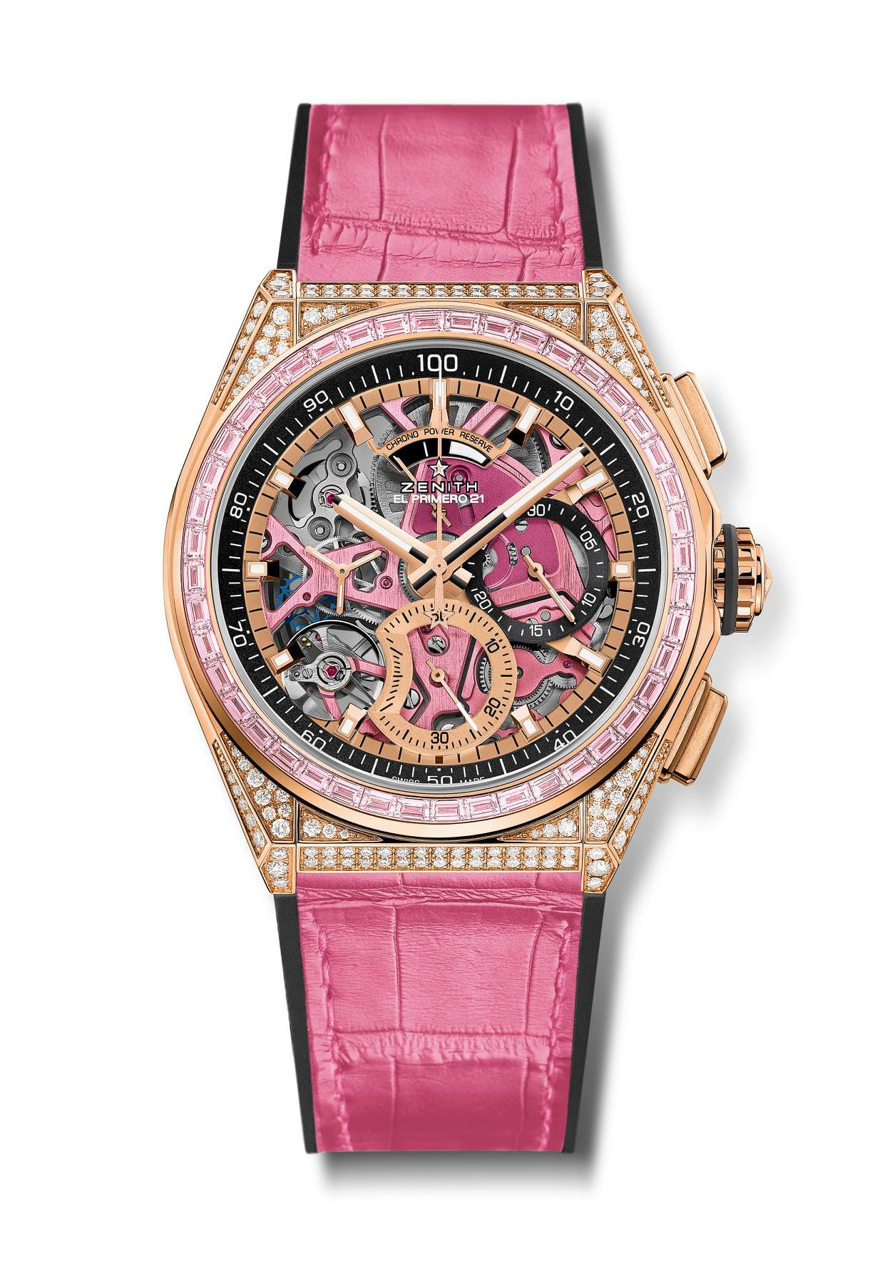 Zenith Defy 21 Pink Edition-pack