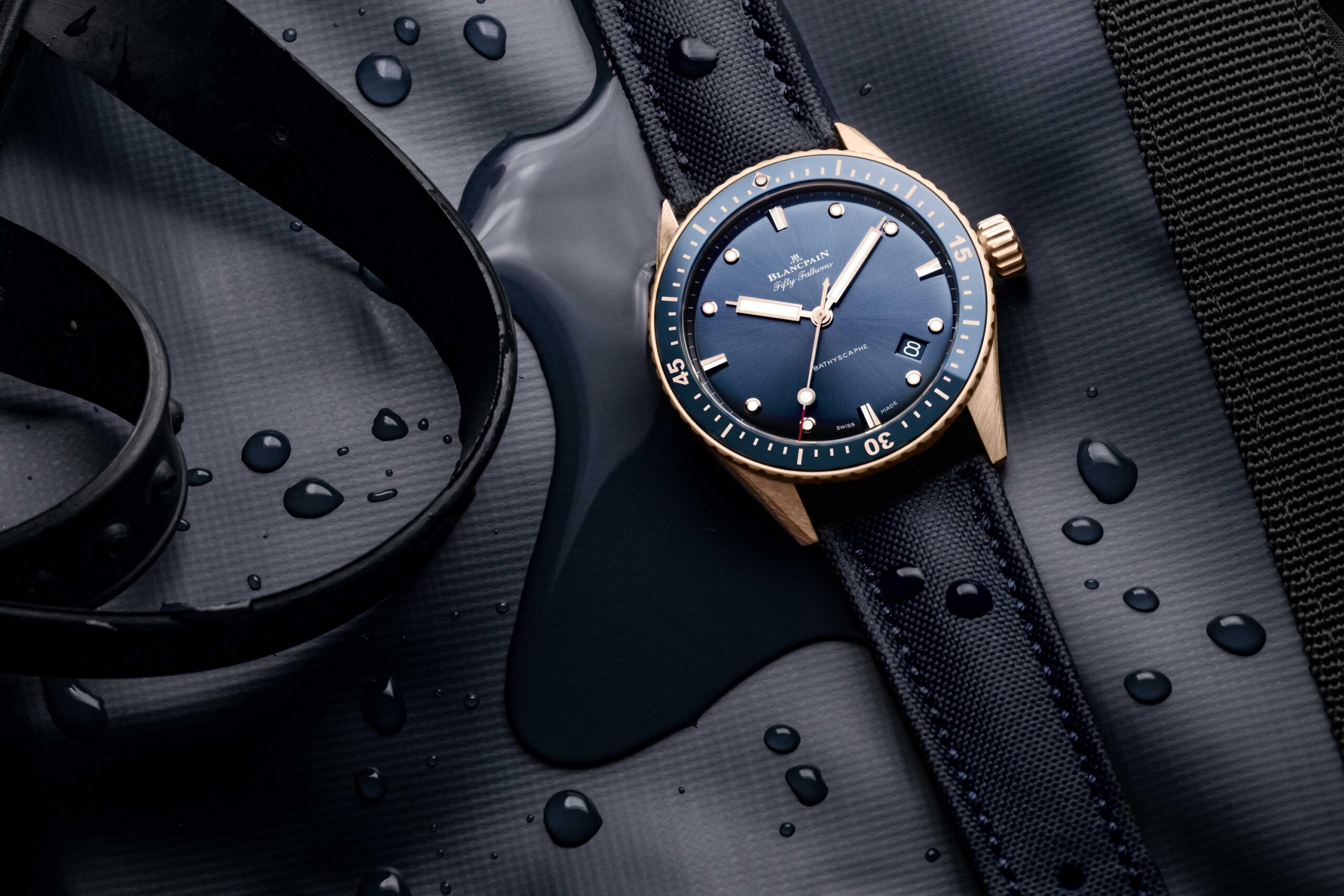 Blancpain Fifty Fathoms Bathyscaphe Sedna Gold