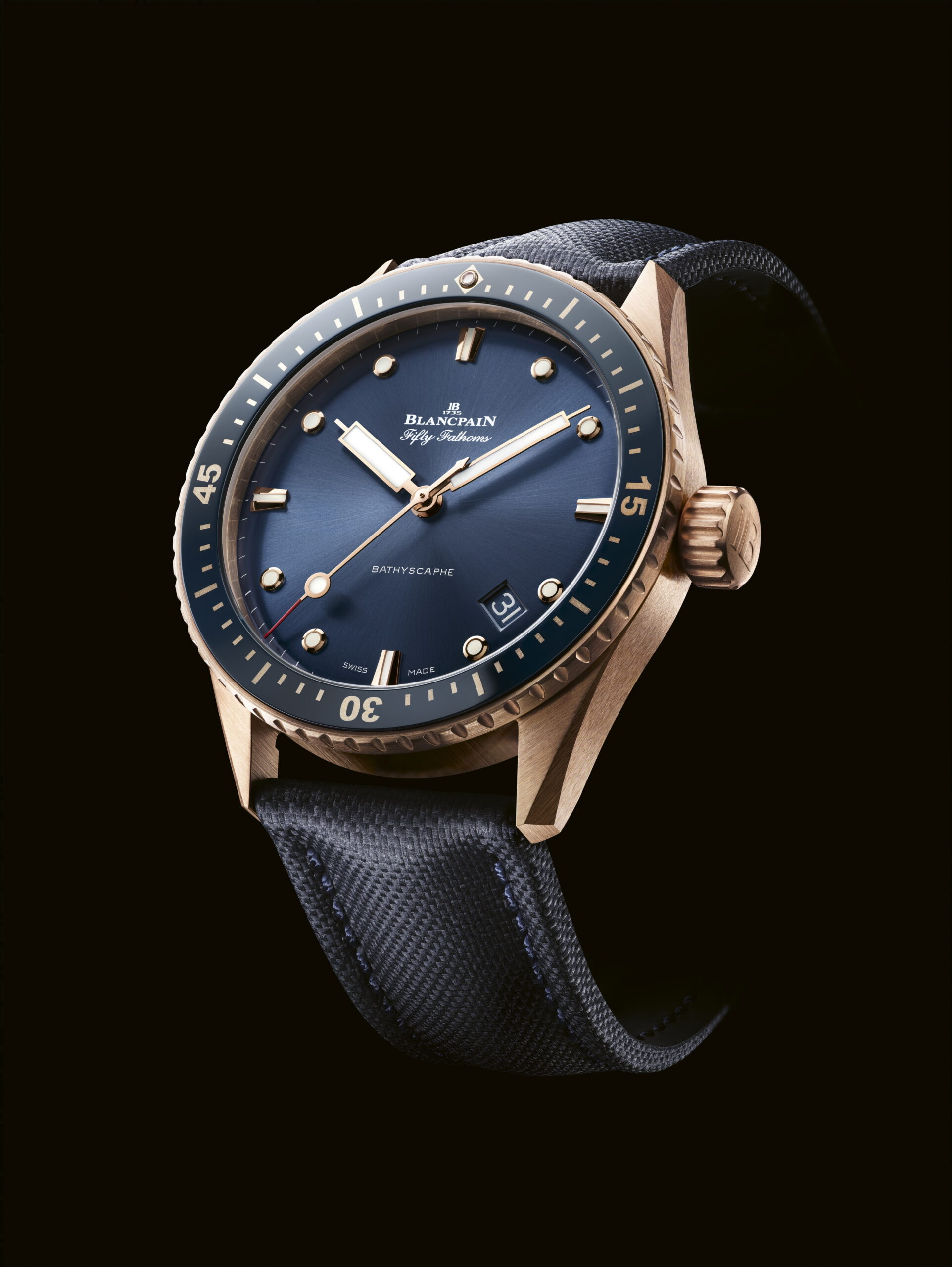 Blancpain Fifty Fathoms Bathyscaphe Sedna Gold-2