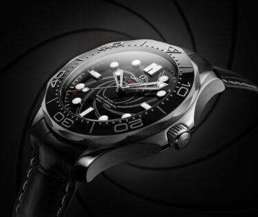 Omega Seamaster Diver 300M James Bond Numbered Edition close up