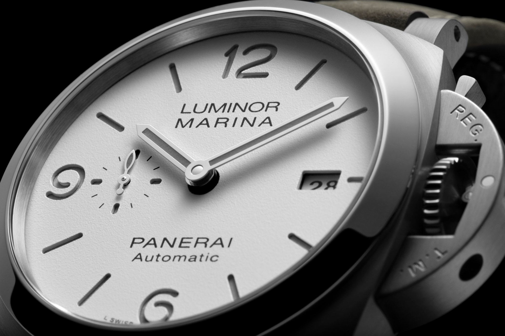 Panerai Luminor Marina 44 mm casual-zoom caratula