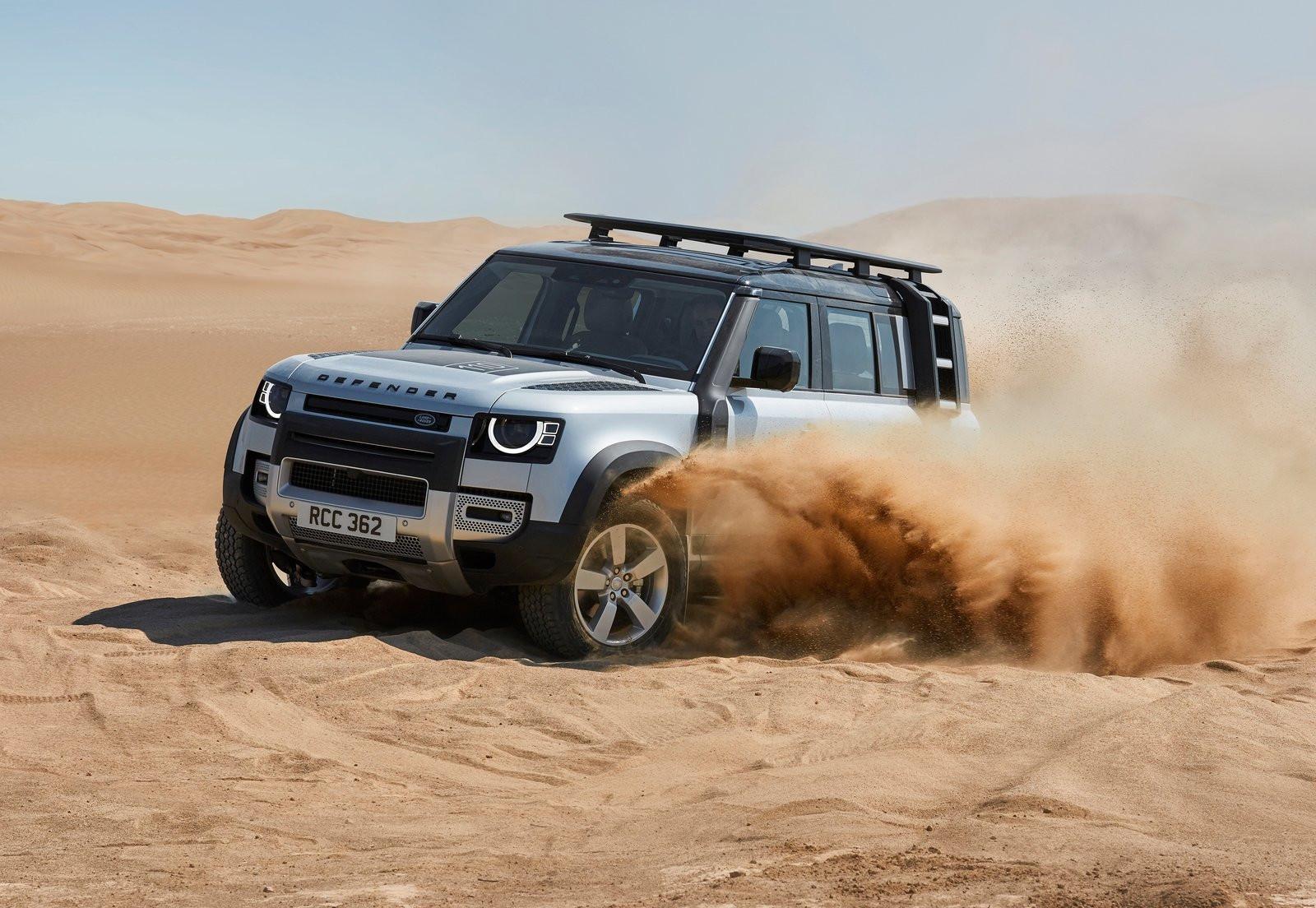 Land Rover Defender mantiene su espíritu aventurero