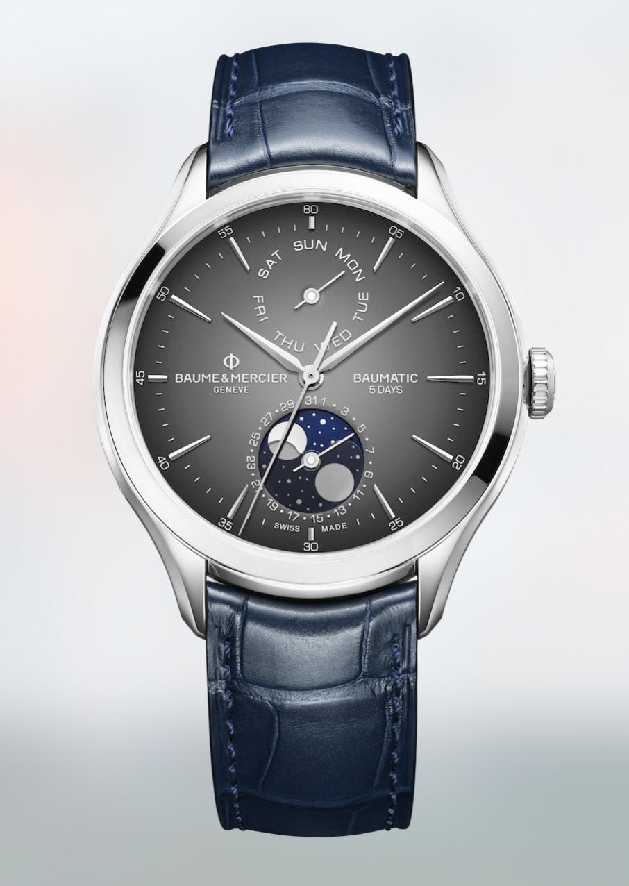 Clifton Baumatic 10548 y Classima 10329 de Baume & Mercier los relojes de la Luna