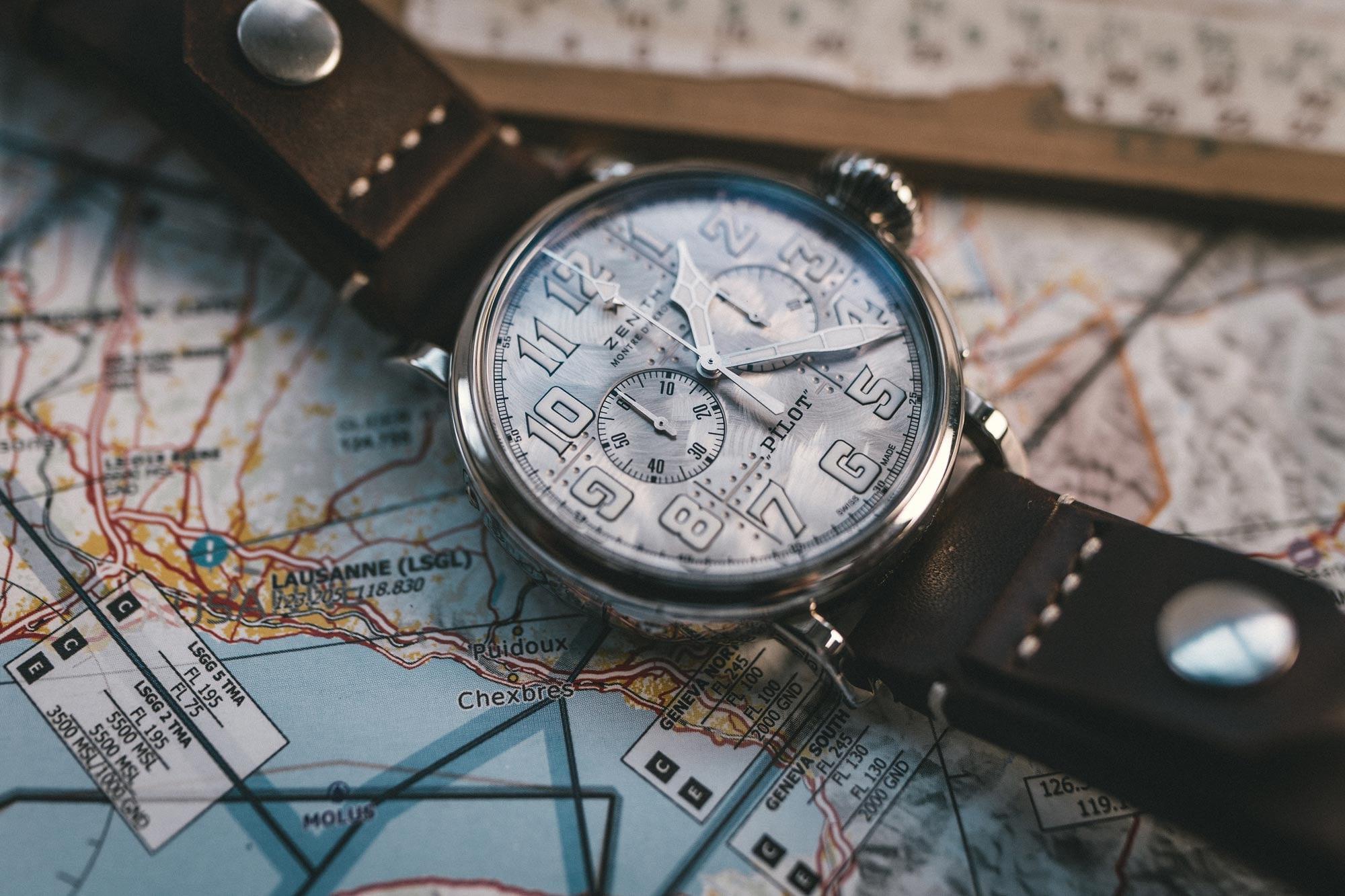 Zenith Pilot Type 20 Chronograph Silver * Watches World : Watches World