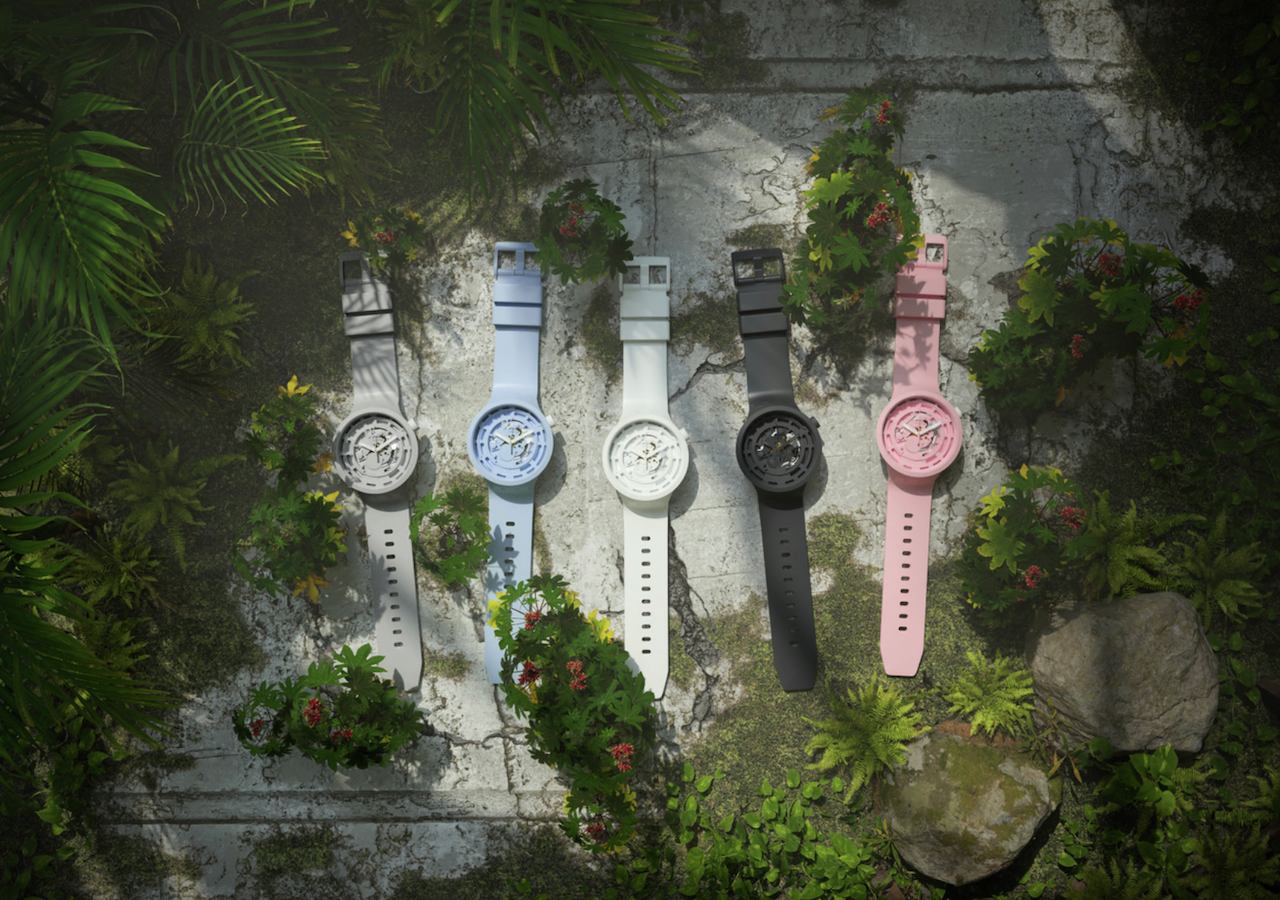Swatch lanza Bioceramic