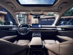 Interior Lincoln Nautilus 2021