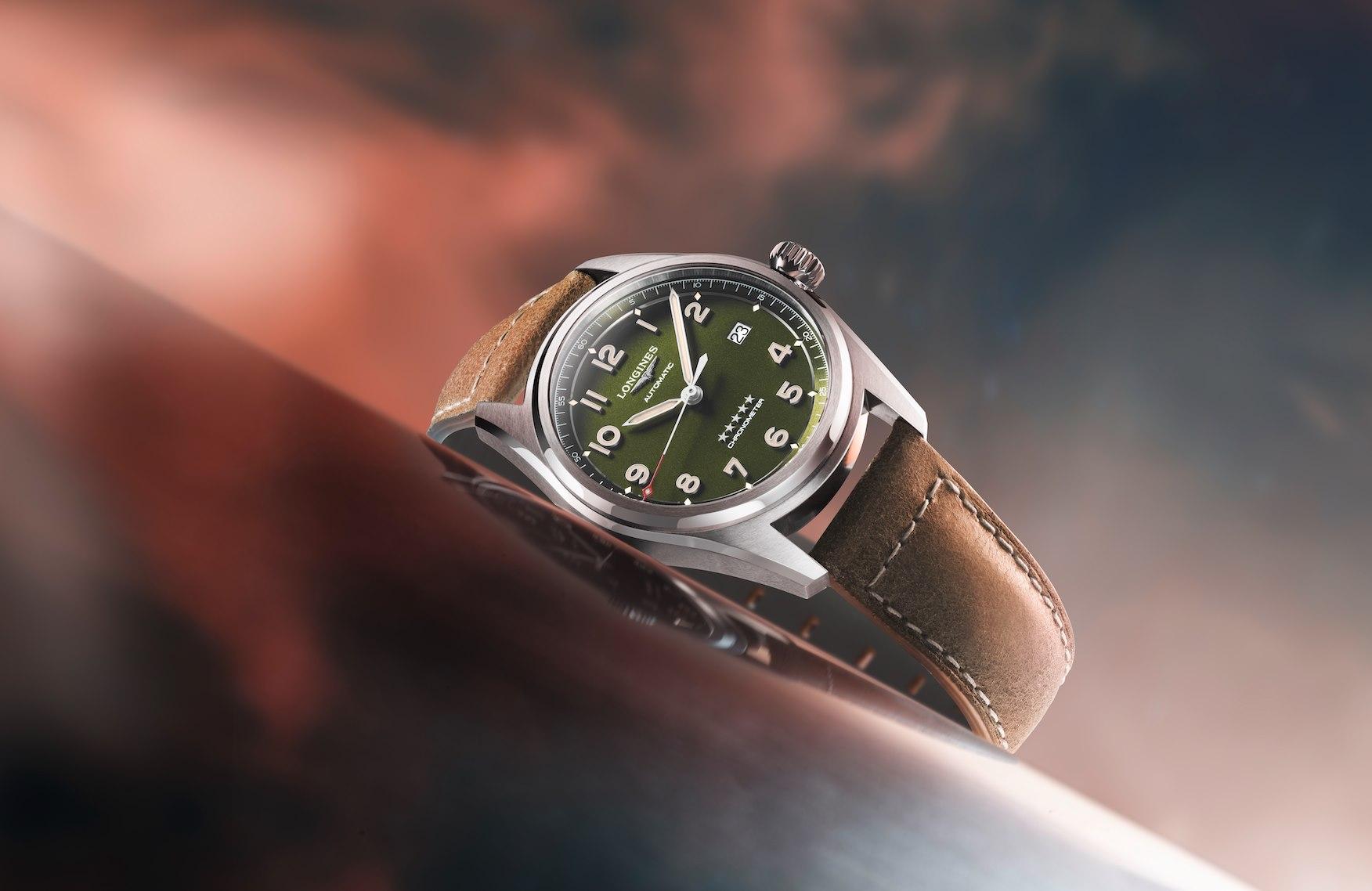 Longines Spirit Green Dial-14
