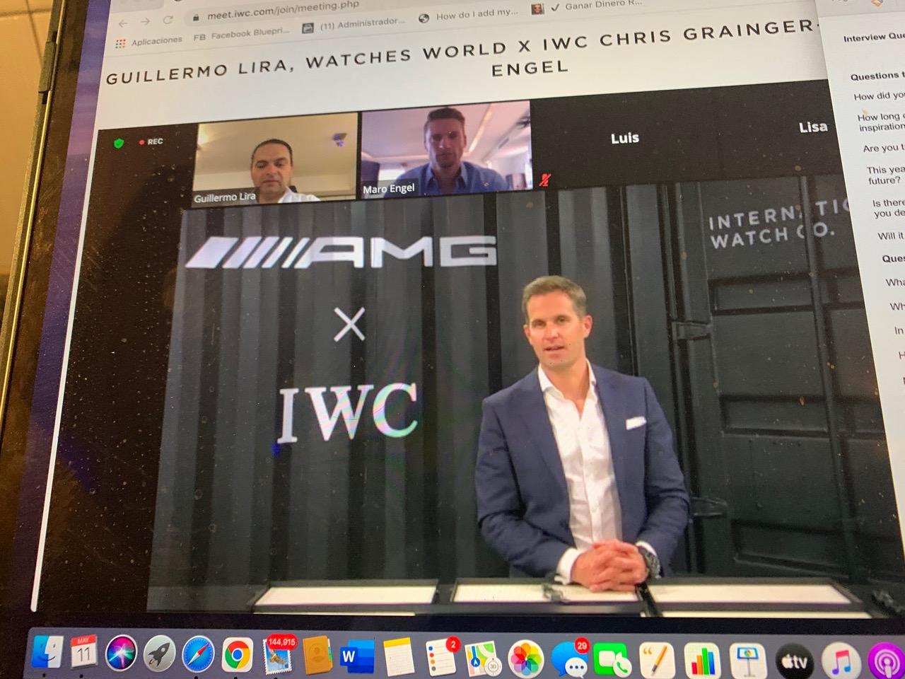 ¿Un CEO y un piloto al mismo tiempo? Solo con un IWC Pilot edición AMG