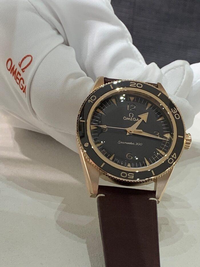 Bronze Gold Seamaster 300