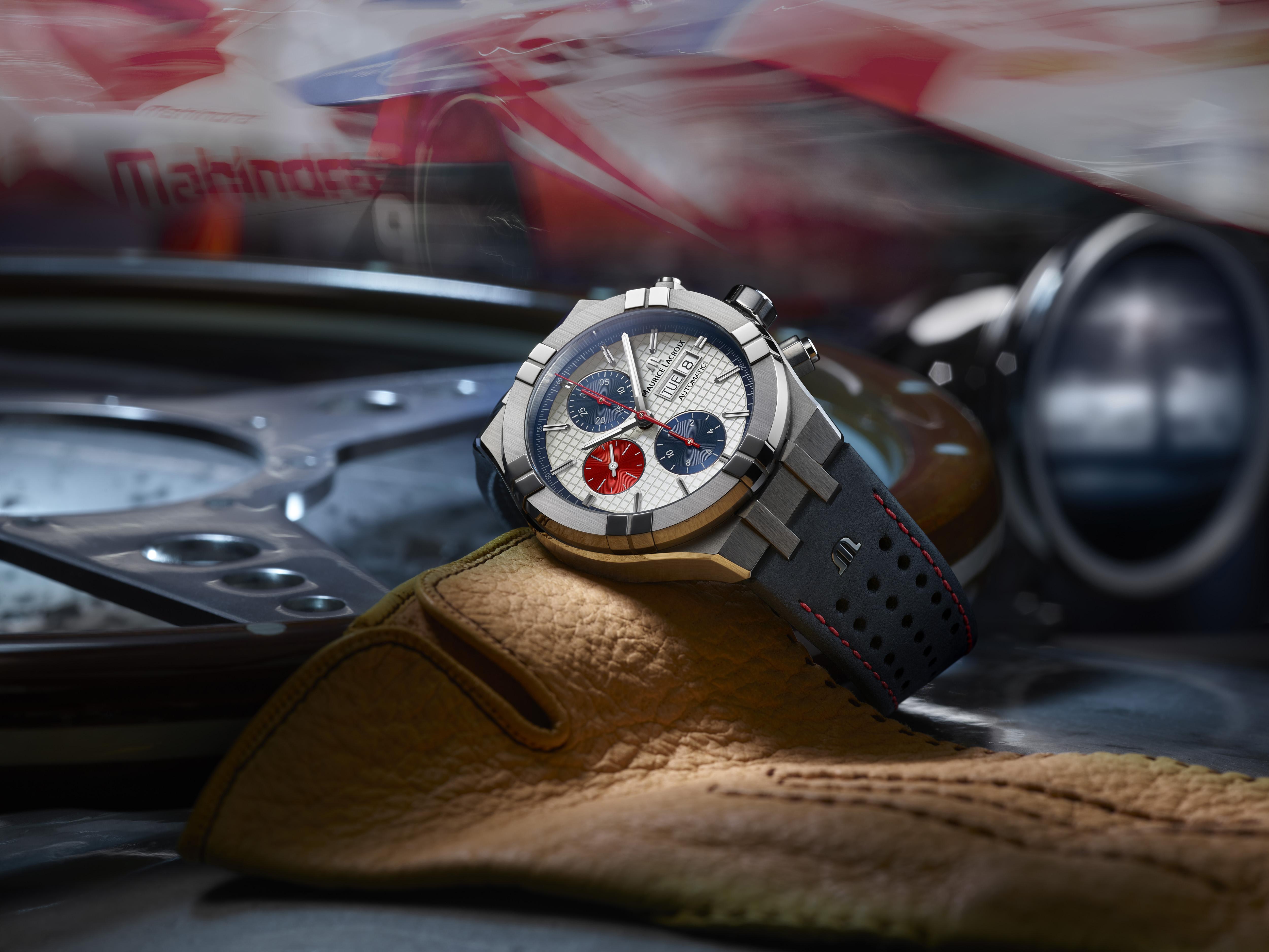 Maurice Lacroix AIKON edición especial Mahindra Racing 2