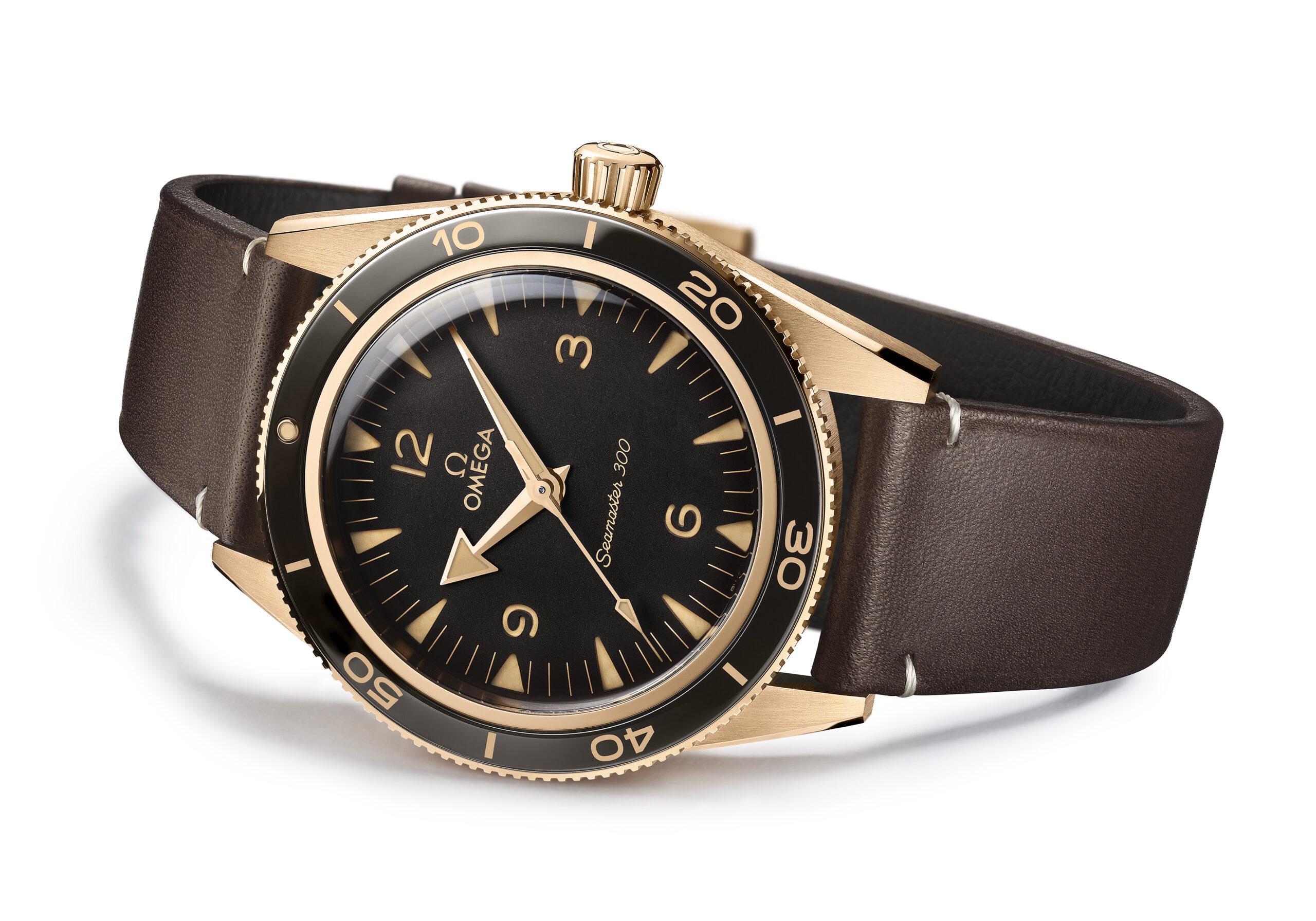 Omega Seamaster 300 Bronze Gold relojes