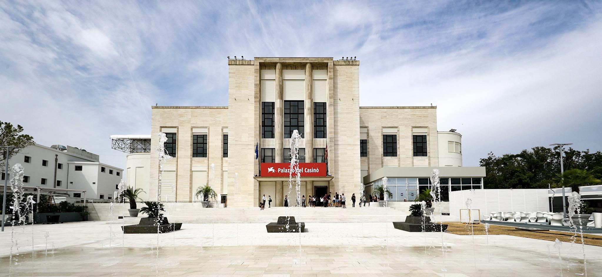 Palazzo del Casinò Crédito: La Biennale di Venezia - foto ASAC