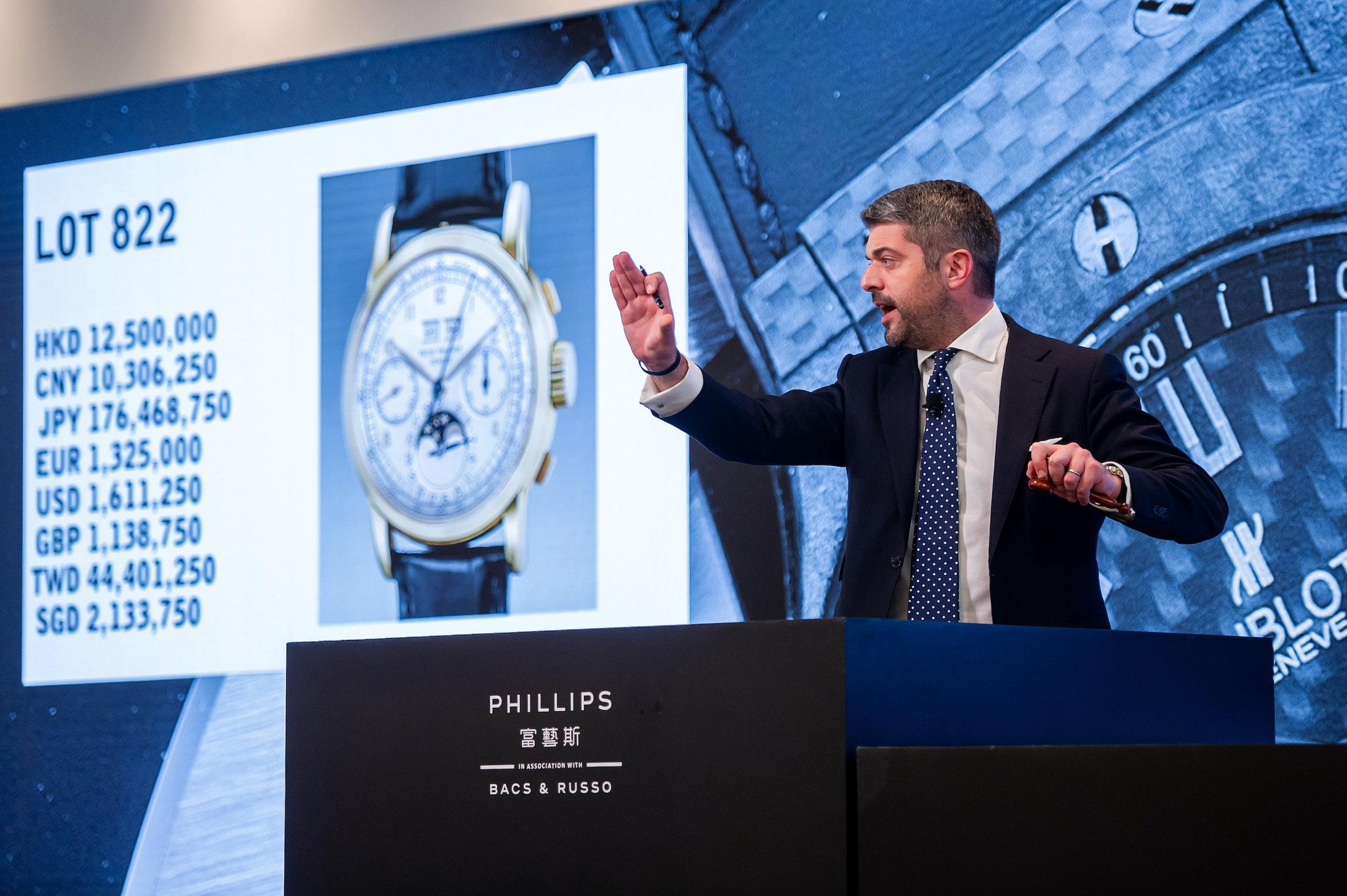 Thomas Perazzi en la subasta The Hong Kong Watch Auction XII Phillips 1 copia