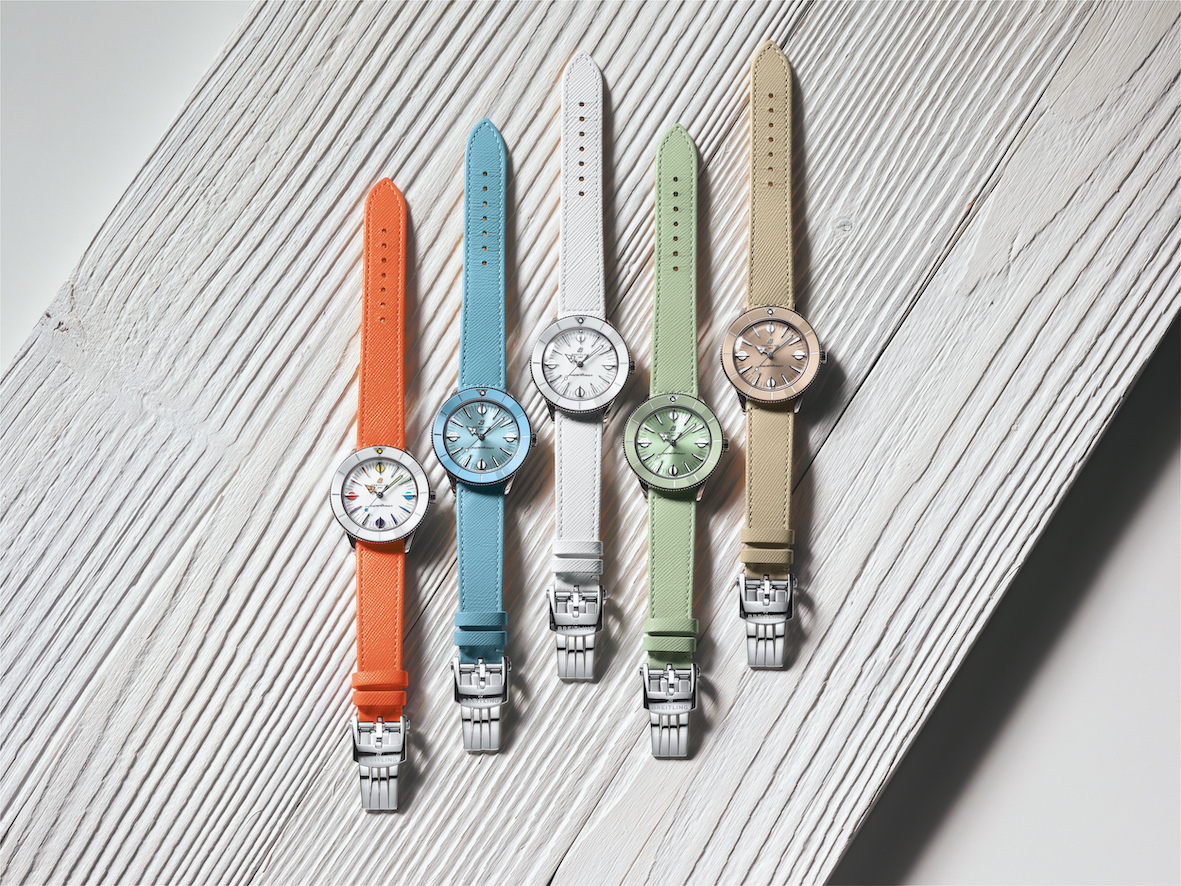Breitling Superocean Heritage 57 Pastel Paradise Capsule Collection relojes
