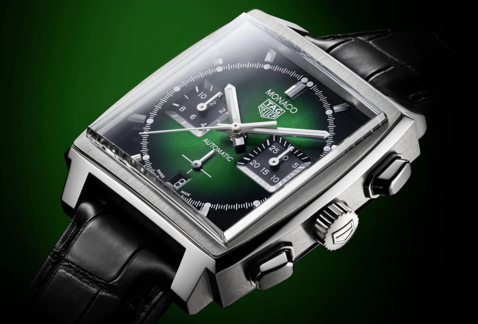 TAG Heuer Monaco Green Dial Special Edition