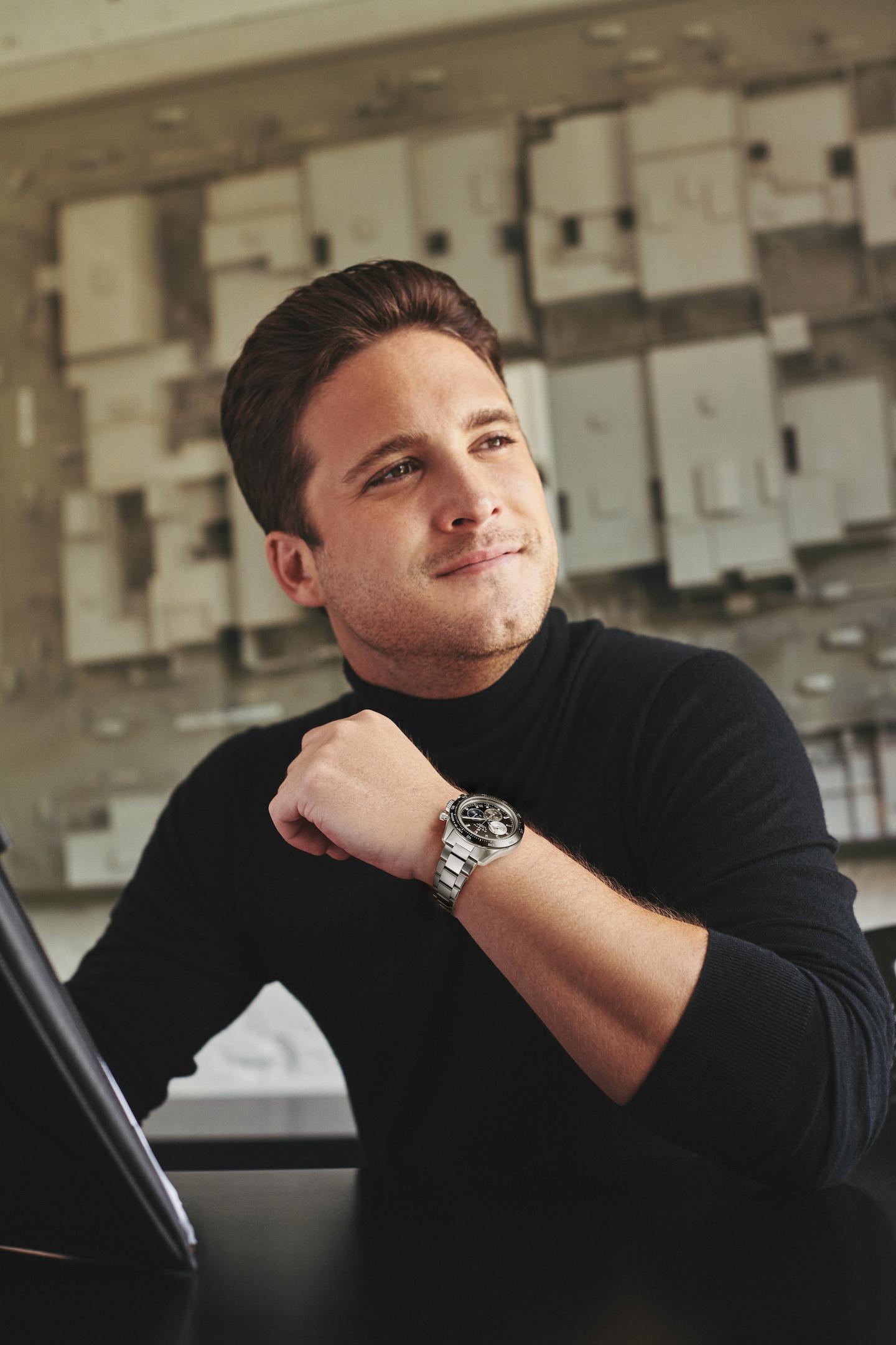 Berger Promesas_Diego Boneta Éxito Profesional 3 reloj Zenith