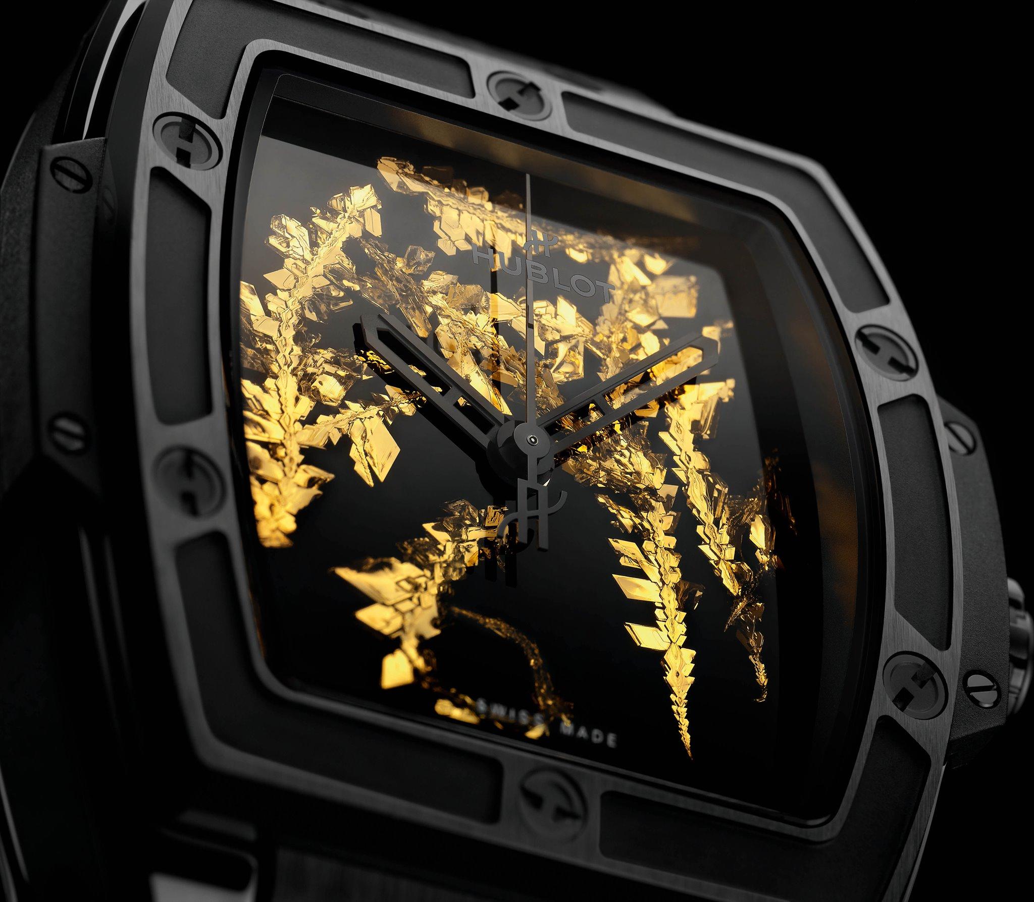 Hublot Spirit of Big Bang Gold Crystal 4 oro