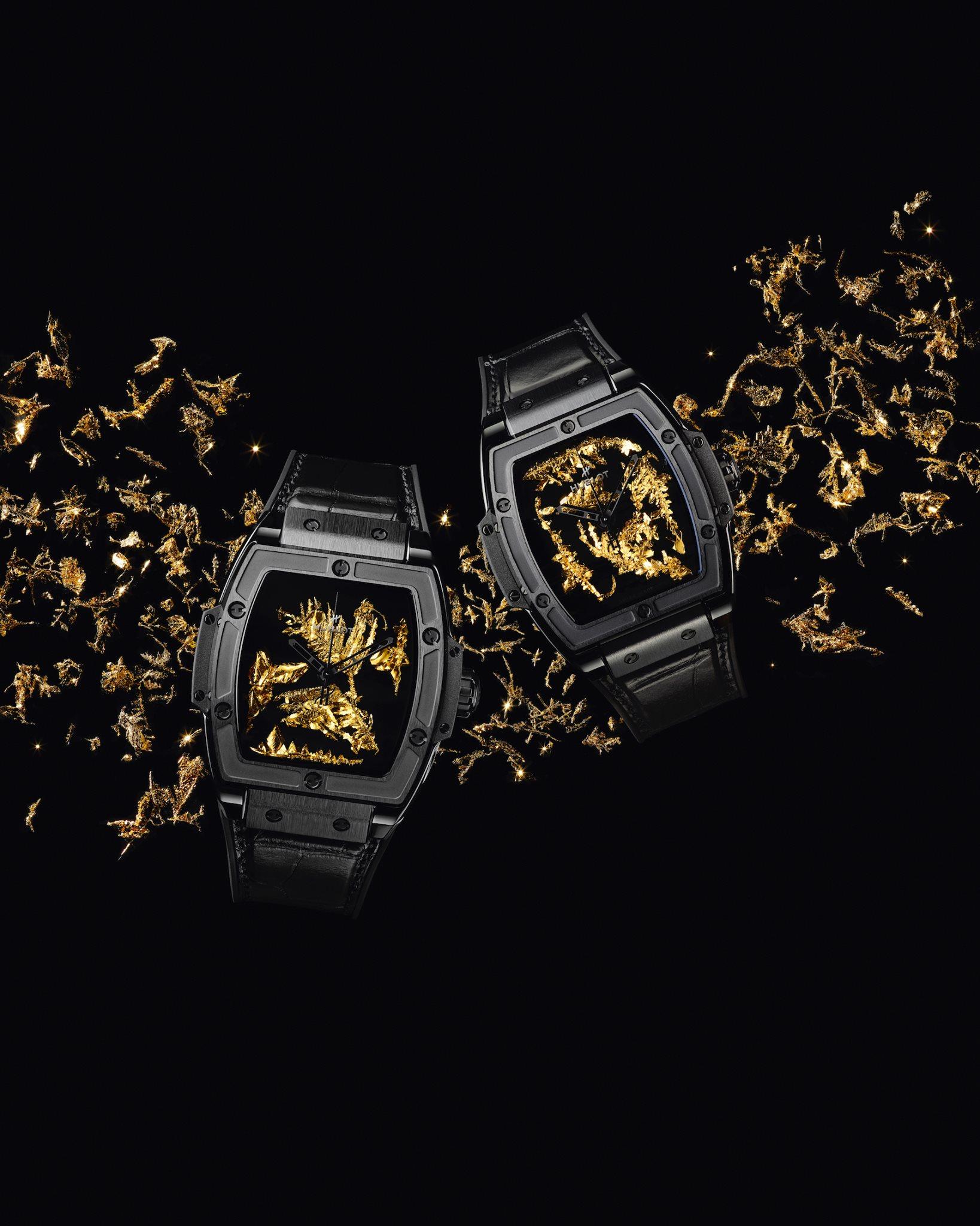 Hublot Spirit of Big Bang Gold Crystal oro
