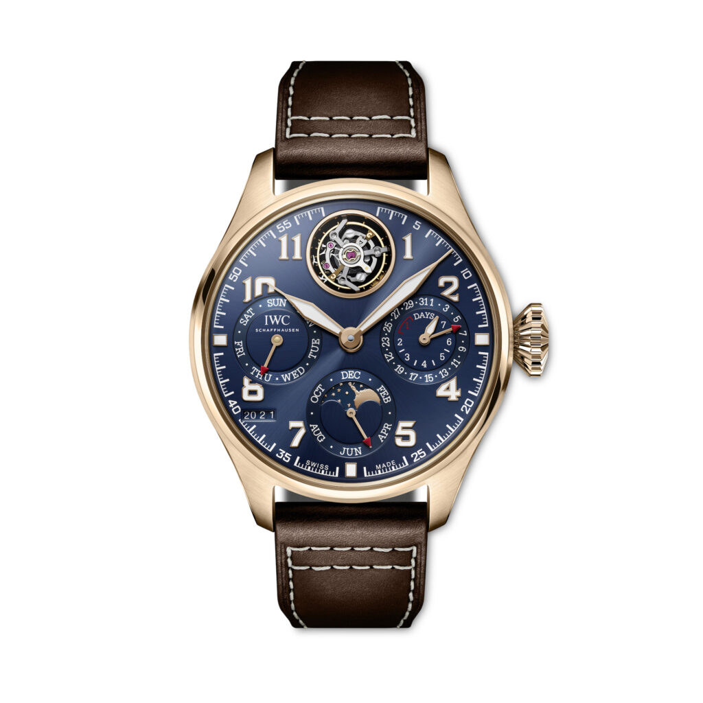 IWC Schaffhausen- Big Pilot's Watch Perpetual Calendar Tourbillon Le Petit Prince Ref. IW504803